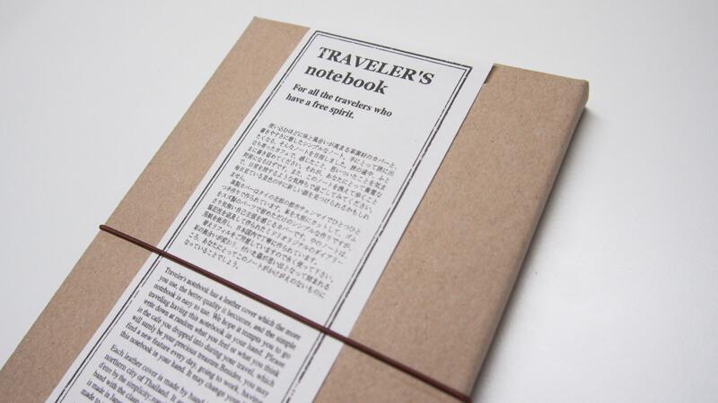 รีวิวสมุด Midori Traveler's Notebook