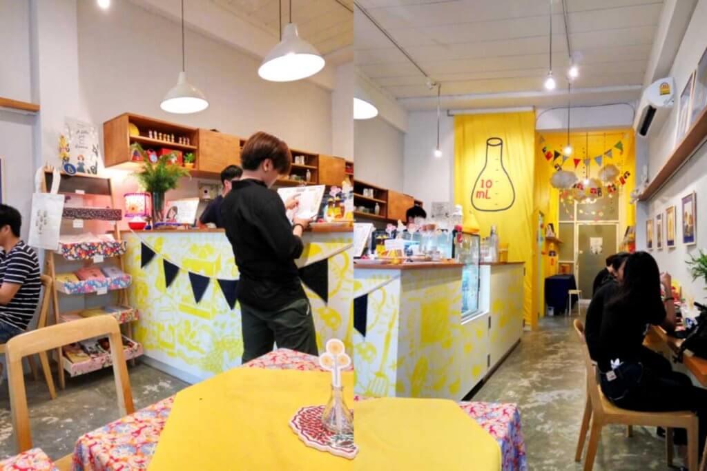10 ml. Cafe Gallery ร้านกาแฟกึ่งแกลอรี่สำหรับคนรักงานศิลปะ